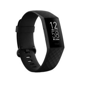 سوار اللياقة البدنية مع GPS من Fitbit  - أسود