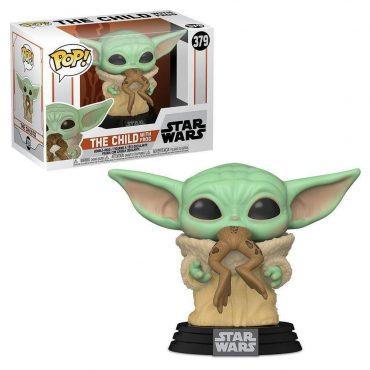 شخصية POP Star Wars:Mandalorian- The Child w/Frog