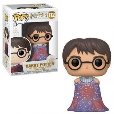 شخصية POP HP: HP- Harry w/Invisibility Cloak