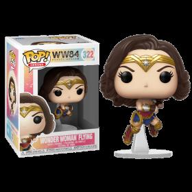 شخصية Pop! Heroes: WW 1984 - Wonder Woman Flying (Metallic)