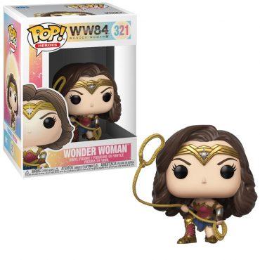 شخصية Pop! Heroes: WW 1984 - Wonder Woman (Metallic)