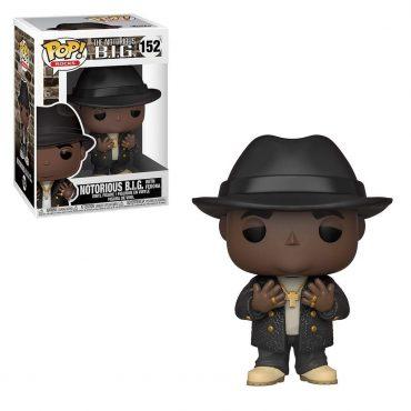 شخصية POP Rocks: Biggie - Notorious B.I.G. w/Fedora