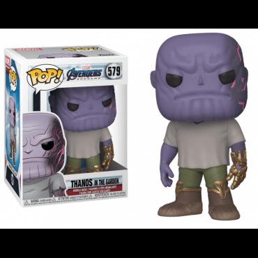 شخصية POP Marvel: Endgame - Casual Thanos w/Gauntlet