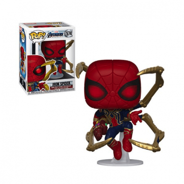 شخصية POP Marvel: Endgame- Iron Spider w/NanoGauntlet