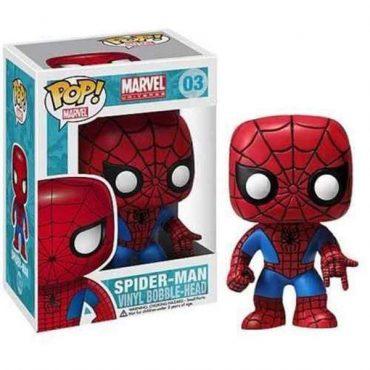 شخصية POP Marvel : Spiderman Bobble Head
