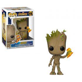 شخصية POP Marvel: Infinity War S2 - Groot w/ Stormbreaker