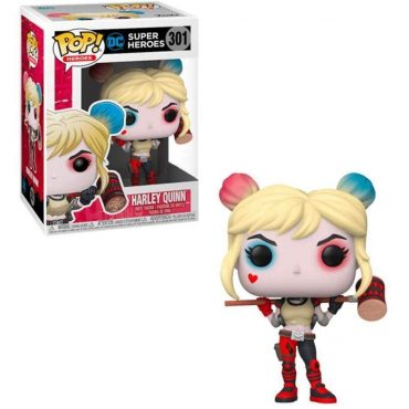 شخصية POP Heroes: DC - Harley Quinn w/Mallet (EXC)