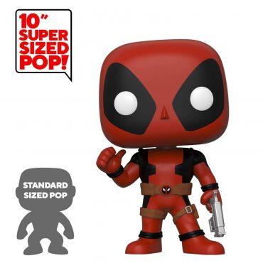 "شخصية POP Marvel: Deadpool- 10"" Deadpool ThumbsUp (RD) (Exc)"