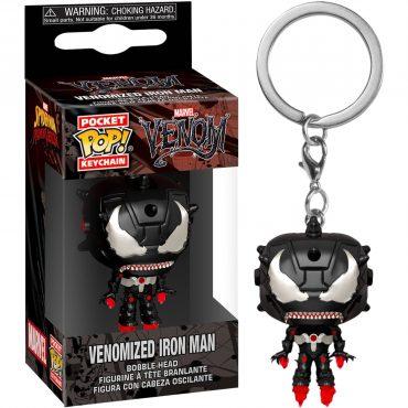 شخصية POP Keychain: Marvel Venom - Iron Man