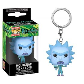 شخصية POP Keychain: Rick & Morty - Hologram Rick Clone