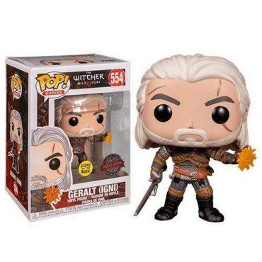 شخصية POP Games: Witcher - Geralt (GW) (Exc)