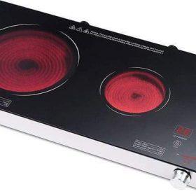 جيباس GIC6131 مزدوج الأشعة تحت الحمراء طباخ / تدفئة سيراميك