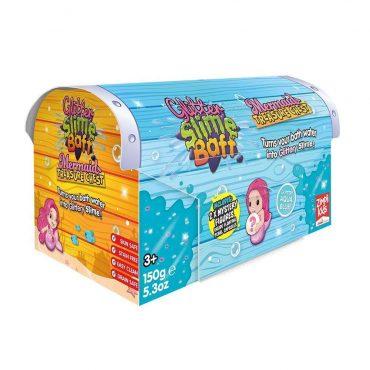 لعبة صندوق الحورية الأزرق Glibbi-Zimpli Kids - Mermaid Treasure Box Blue