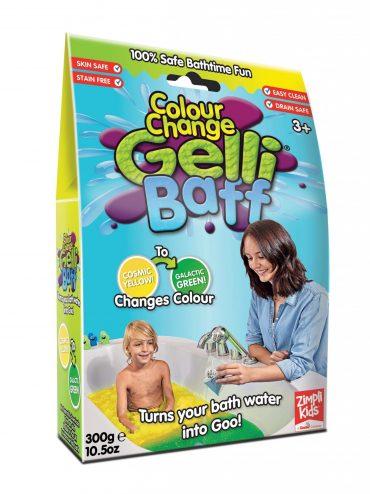 لعبة جيلي باف أصفر 300 جرام glibbi-Zimpli kids - Colour Change Ballistic