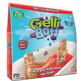 لعبة جيلي باف أحمر 600 جرام glibbi-Zimpli kids - Gelli Baff