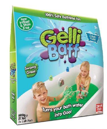 لعبة جيلي باف أخضر 600 جرام glibbi-Zimpli kids - Gelli Baff