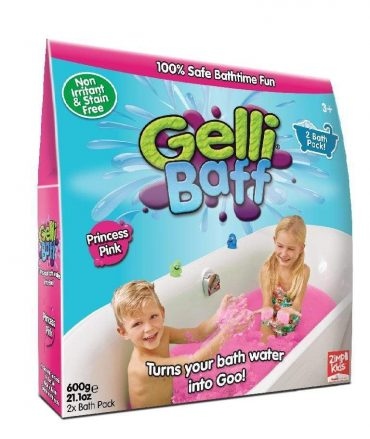 لعبة جيلي باف وردي 600 جرام glibbi-Zimpli kids - Gelli Baff