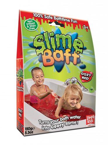 لعبة اوزي باف أحمر 150 جرام glibbi-Zimpli kids - Slime Baff Gunky
