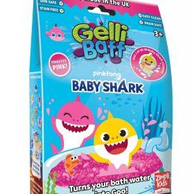 لعبة جيلي باف وردي 300 جرام glibbi-Zimpli kids - Baby Shark Gelli Baff