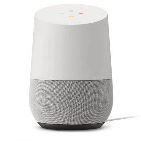 مكبر صوت Home Voice-Activated من Google - أبيض