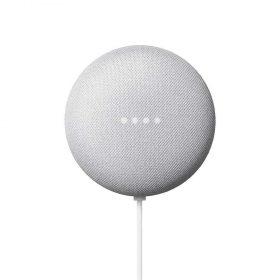 جهاز Nest Mini الجيل الثاني مع مساعد جوجل من Google - أبيض