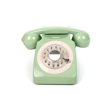 هاتف الفندق روتاري 746 بلون النعناع الأخضر من جي بي او