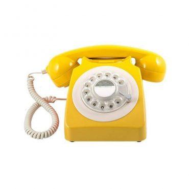 هاتف الفندق روتاري 746 بلون الخردل من جي بي او
