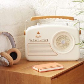 راديو رايدل فور باند بالون الكريمي من جي بي او