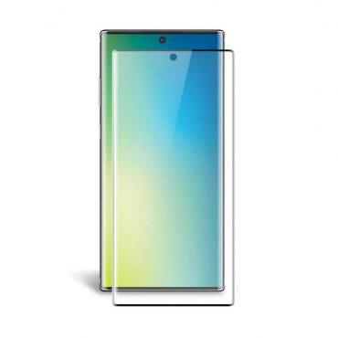 شاشة حماية زجاجية أصلية مع حواف منحنية ثلاثية الأبعاد لسامسونج جالكسي Note 10 Plus من Green