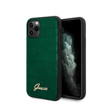 كفر آيفون  11 Pro Max من Guess - أخضر غامق