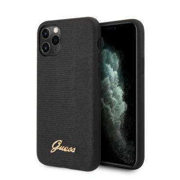 كفر آيفون 11 Pro Max من Guess - أسود