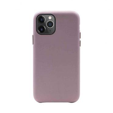 كفر أصلي جلدي Macaron لآيفون 11 Pro من Habitu - وردي