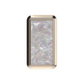 مسند موبايل Handl - Marble Phone Grip - Mother of Pearl - رمادي
