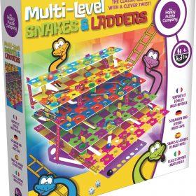 لعبة السلم والثعبان متعددة المستويات Happy Puzzle - Multi-Level SNAKES AND LADDERS