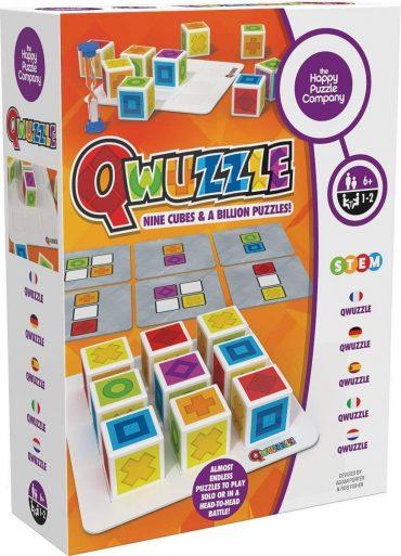 لعبة المربعات Happy Puzzle - QWUZZLE