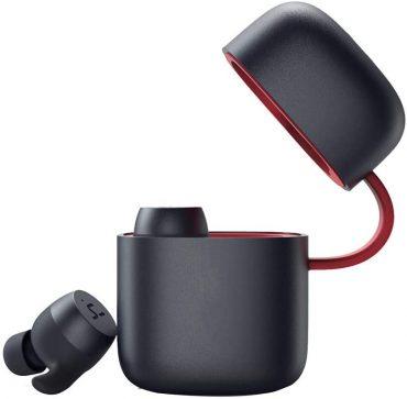 سماعة الأذن الرياضية Havit G1 Pro مقاومة للمياه والعرق – أحمر / أسود