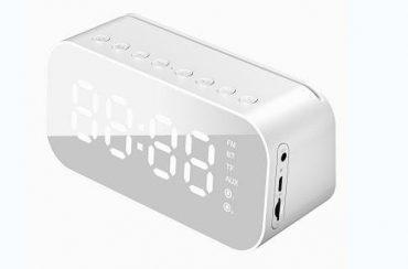 مكبر صوت بلوتوث مع منبه Havit Clock Bluetooth speaker MX701 - أبيض