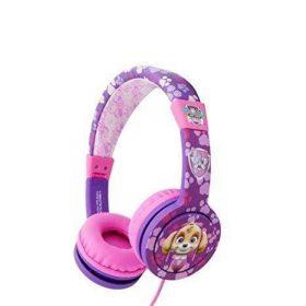 سماعات رأس سلكية Hedrave Wired Paw Patrol Deluxe Headphones - وردي