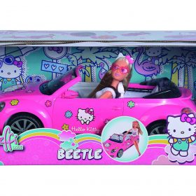 لعبة سيارة VW هلو كيتي SIMBA - HK SL VW Beetle Cabriolet