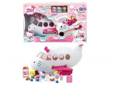 لعبة طائرة 20 قطعة من الملحقات JADA - Hello Kitty Jet Plane
