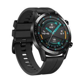 ساعة ذكية  Huawei GT 2 مع حزام أسود