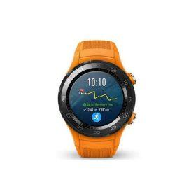 ساعة ذكية GT Huawei – رمادي وحزام برتقالي