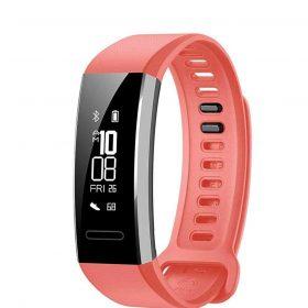 ساعة B19 Watch Band 2 Huawei -أحمر