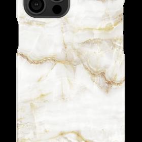 كفر iDeal of Sweden - MARBLE Apple iPhone 12 Pro Max Case - Golden Pearl Marble