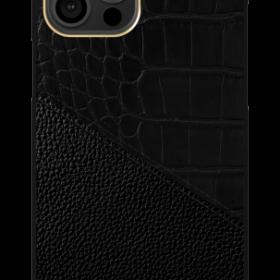 كفر iDeal of Sweden - ATELIER Apple iPhone 12 Pro Case - Nightfall Croco