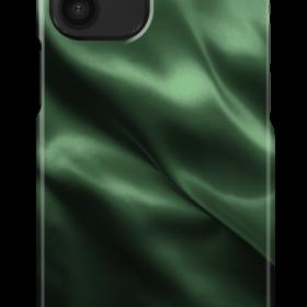 كفر iDeal of Sweden - SATIN Apple iPhone 12 Mini Case - Emerald Satin