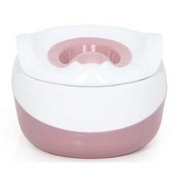 مقعد مرحاض للأطفال iFam - 3 in 1 Multi Baby Potty - زهري