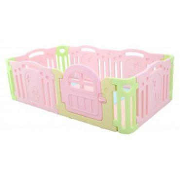ساحة ألعاب iFam - Marshmallow Baby Room Expand - زهري