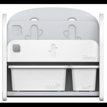 خزانة كتب iFam - Easy Doing Front Bookshelf – 1 - أبيض