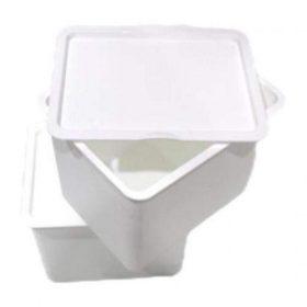 صندوق تخزين iFam - Organizer (A) Basket + Cover /Extra Large 2EA - أبيض